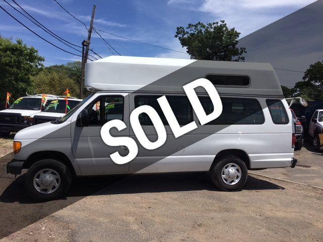2007 Ford Econoline Cargo Van EXTENDED HIGH ROOF WHEEL CHAIR 8 PASSENGER - 17579909