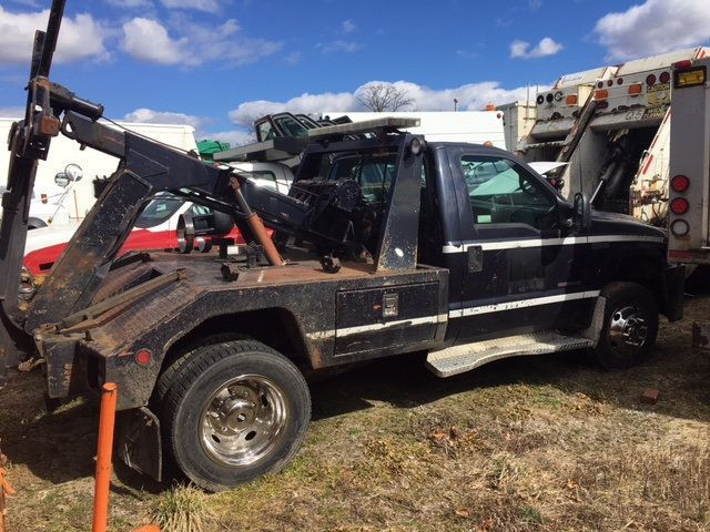 2000 Ford SUPER DUTY  F-550 SELF LOADER LOW MILES WRECKER - 18202328