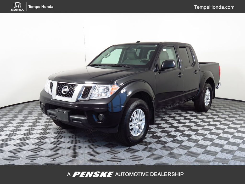Pre-Owned 2018 Nissan Frontier Crew Cab 4x4 SV V6 Automatic