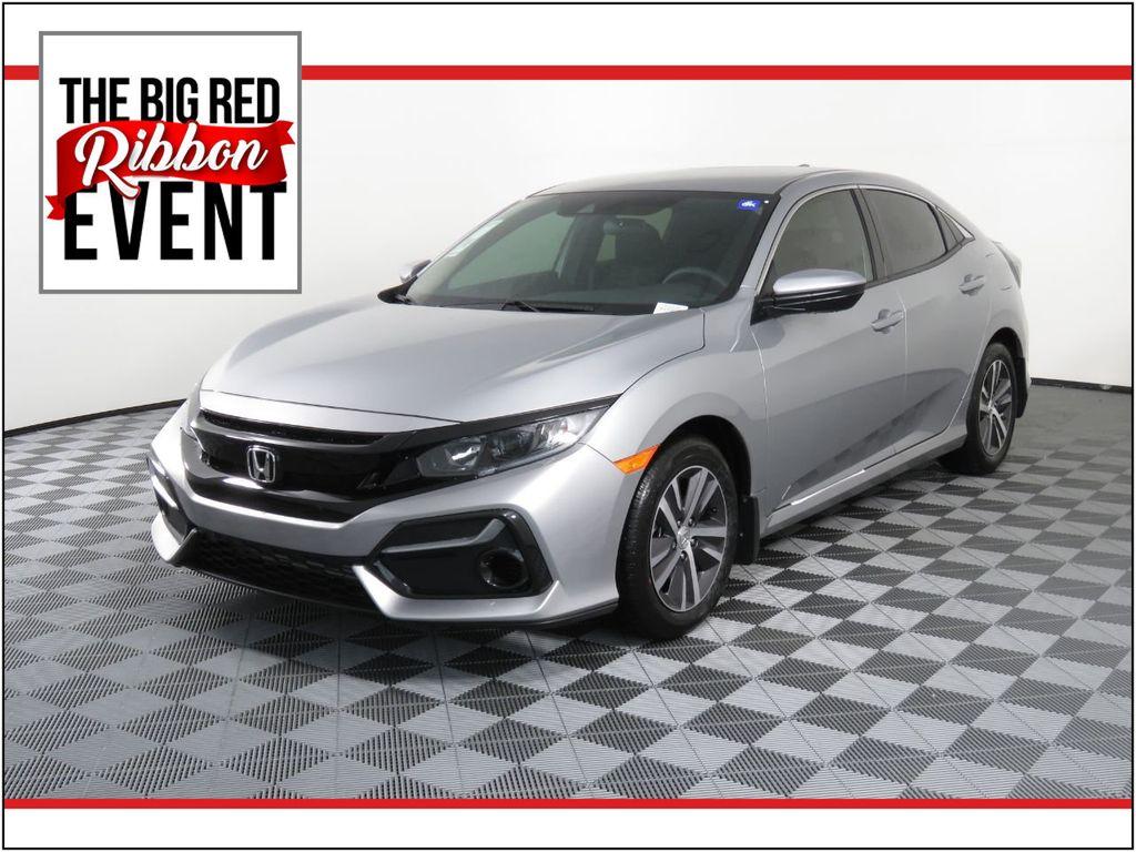 New 2020 Honda Civic Hatchback LX CVT