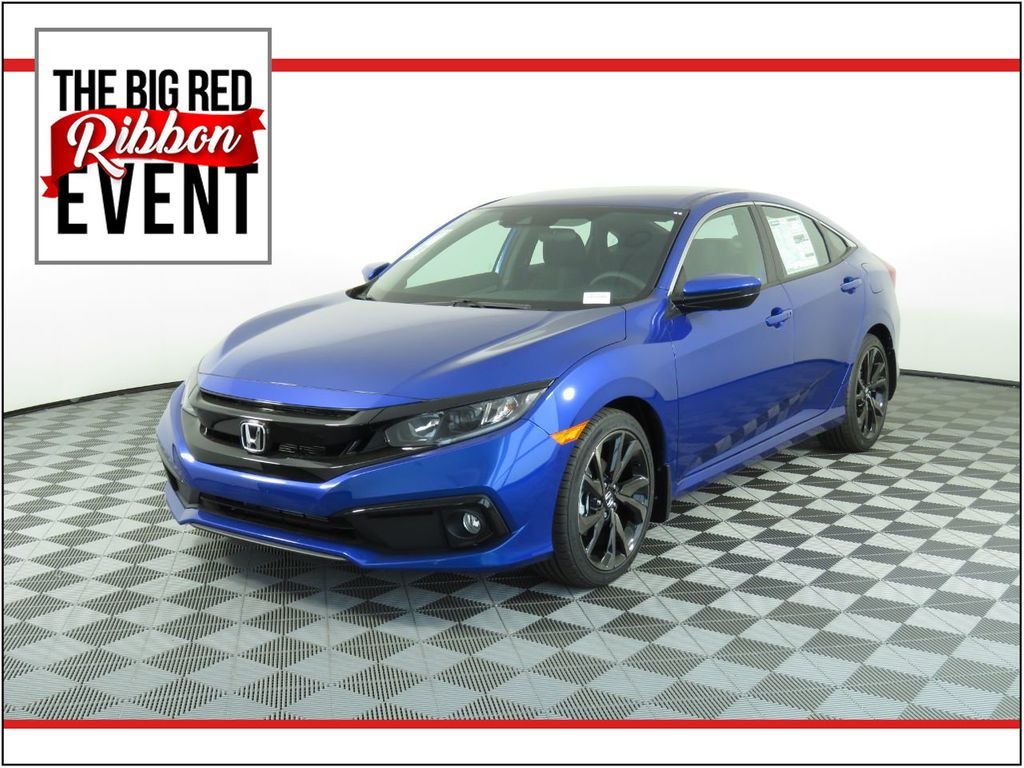New 2020 Honda Civic Sedan Sport Cvt Sedan In Phoenix H01972 Penske Automall