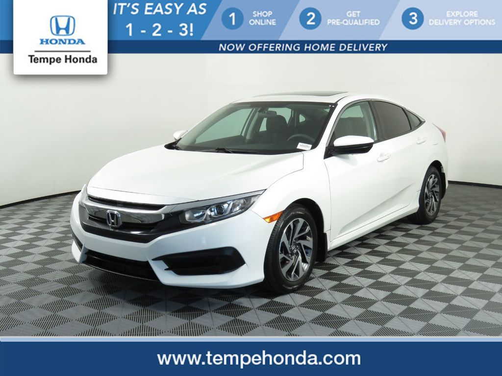 Certified Pre-Owned 2017 Honda Civic Sedan EX CVT