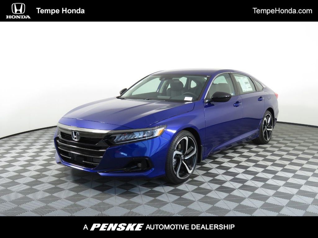 2021 Honda Accord Sedan Sport SE 1.5T CVT