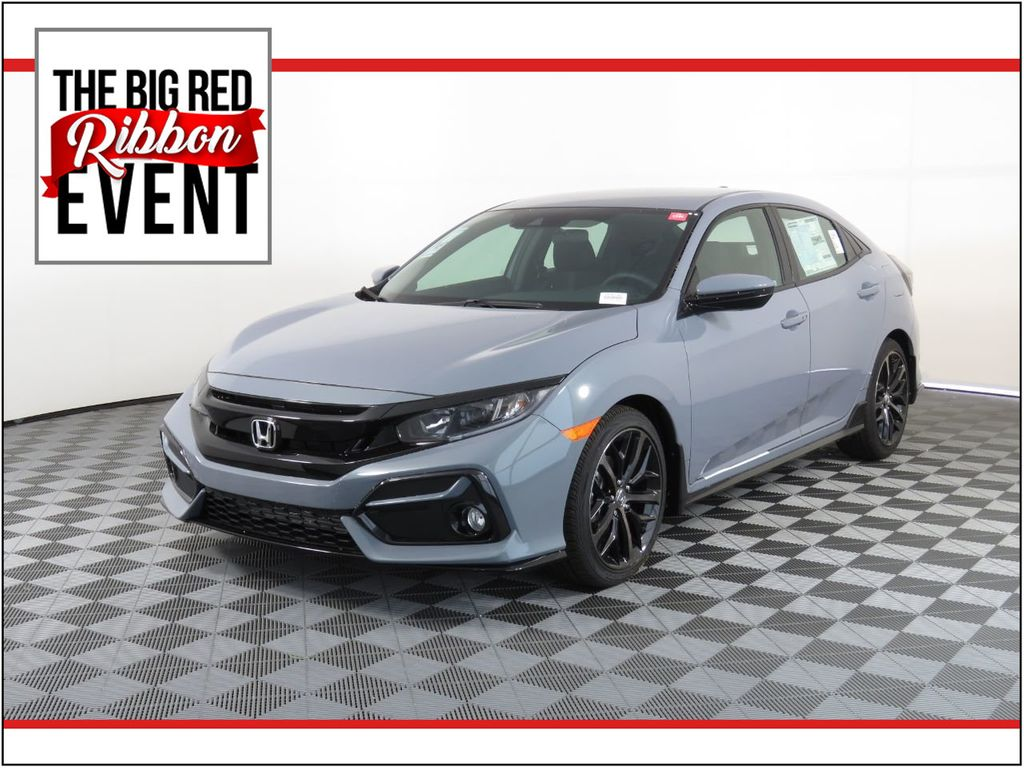 New 2021 Honda Civic Hatchback Sport CVT