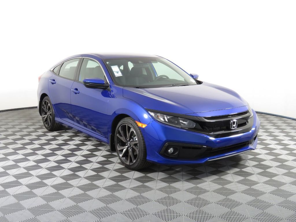 New 2021 Honda Civic Sedan Sport CVT