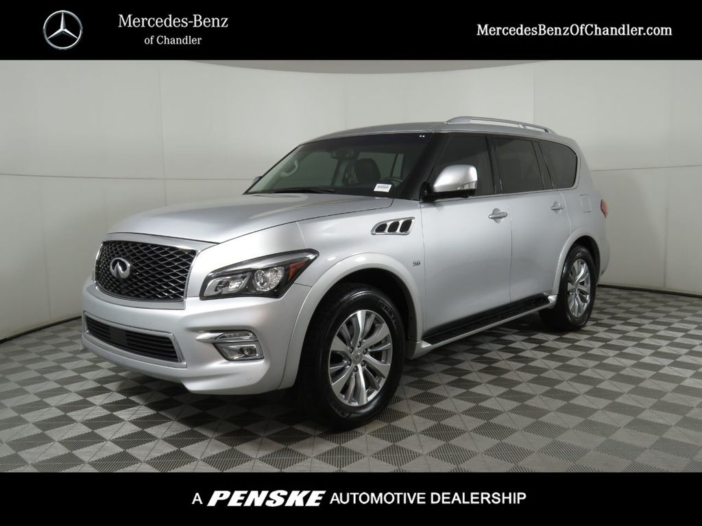Pre-Owned 2017 INFINITI QX80 RWD
