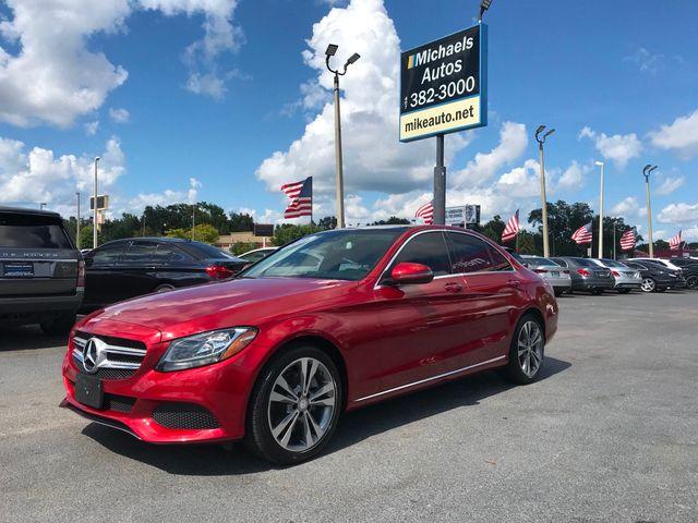 2016 Used Mercedes-Benz C300 W/Navi &Pano C300  Navi-PanoRoof-Keyless-BackUpCam-Blindspot Mtr-Bluetooth at Michaels Autos  Serving Orlando, FL, IID