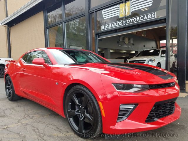 2016 Used Chevrolet Camaro 2dr Coupe Ss W 2ss At