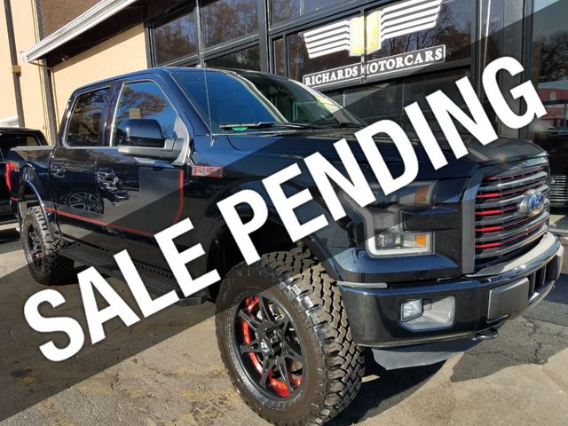 Used F 150 >> 2017 Used Ford F 150 Lariat Special Edition Package4wd Supercrew 5 5 Box Fx4 Offroad At Richards Motorcars Serving Boston Area Lynnfield Peabody Ma