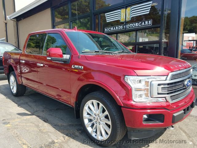 2018 Used Ford F 150 Limited 4wd Supercrew 55 Box At