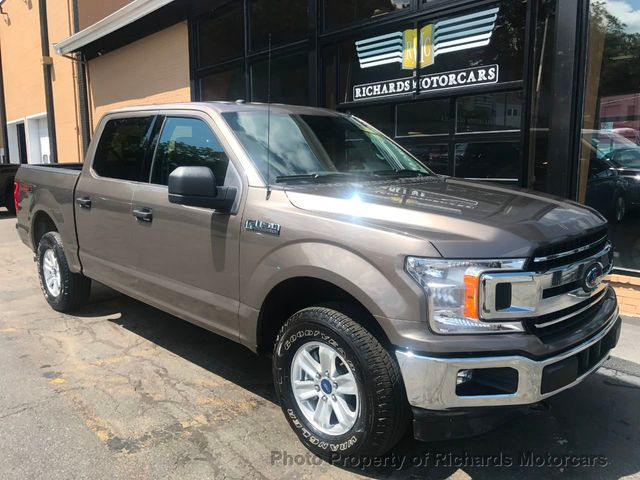 2018 Used Ford F-150 XLT 4WD SuperCrew 5 5' Box at Richards