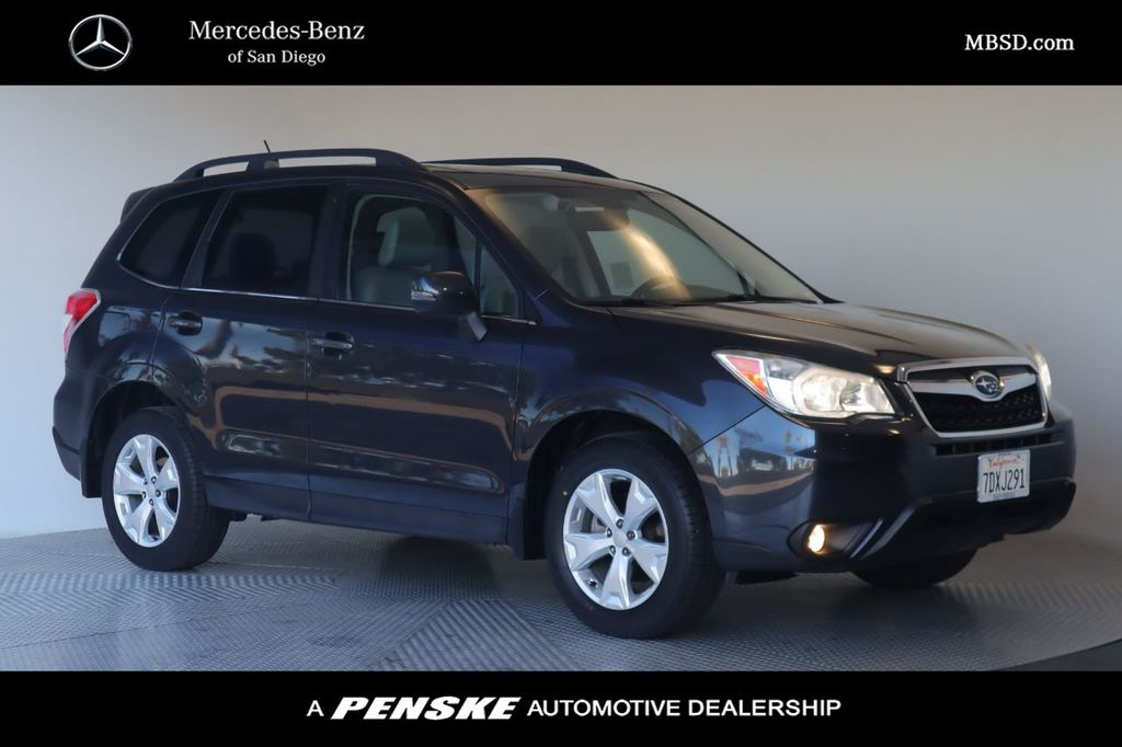 Pre-Owned 2014 Subaru Forester 4dr Automatic 2.5i Touring PZEV