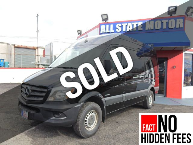 Used 2016 Mercedes-Benz Sprinter Cargo Vans