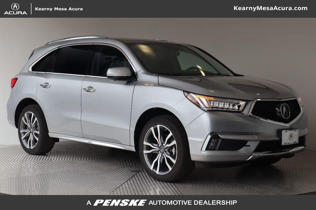 New 2019 Acura MDX FWD w/Advance Pkg
