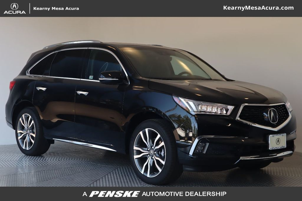 New 2019 Acura MDX FWD w/Advance Pkg