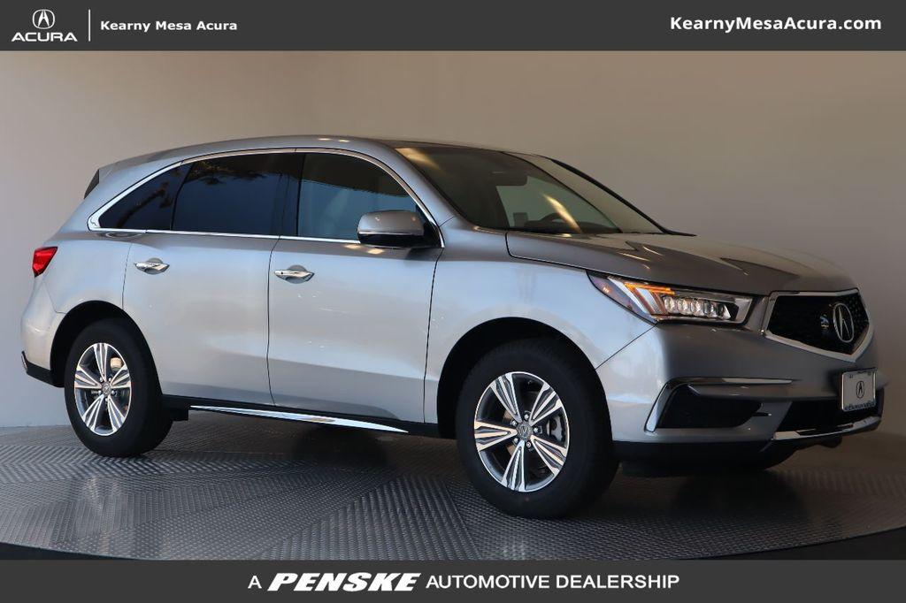 7 Passenger Suv >> New 2020 Acura Mdx Fwd 7 Passenger Front Wheel Drive Suv