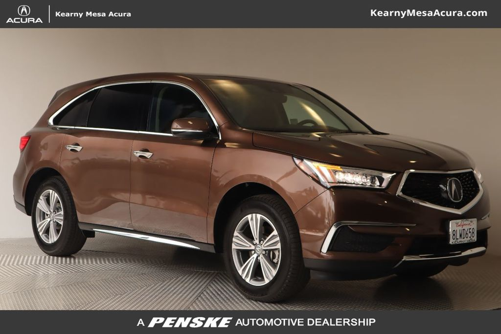 Certified Pre-Owned 2019 Acura MDX FWD