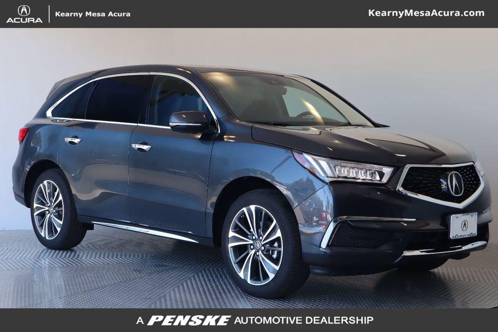 New 2020 Acura MDX FWD 7-Passenger w/Technology Pkg