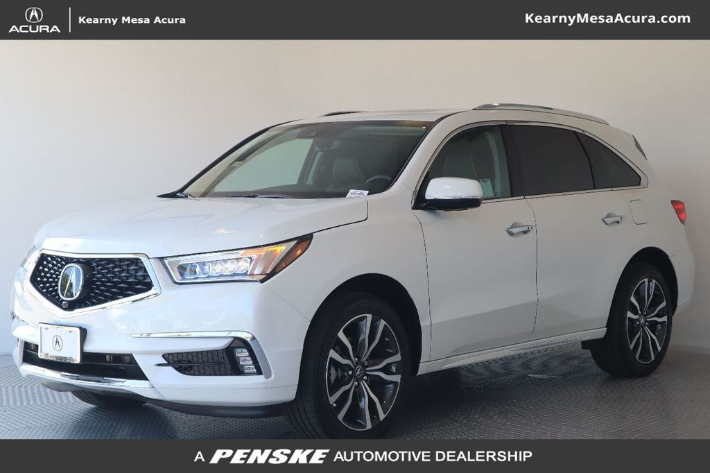 New 2020 Acura MDX with Advance Package