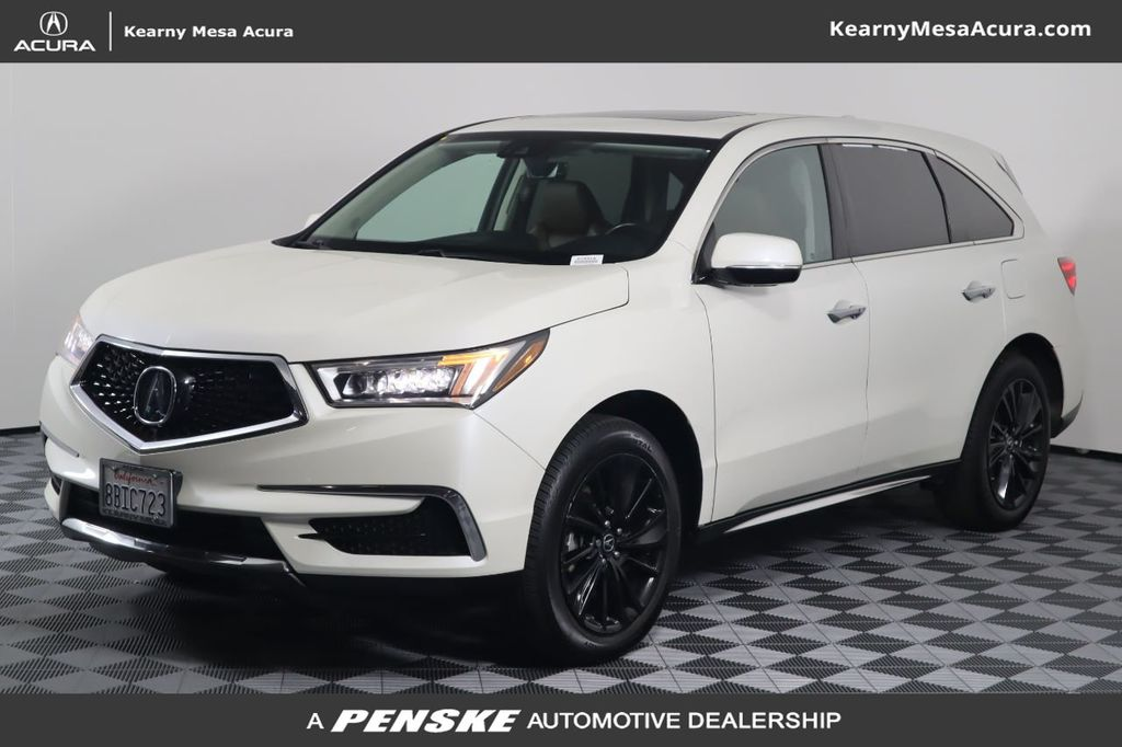 Pre-Owned 2017 Acura MDX FWD w/Technology Pkg