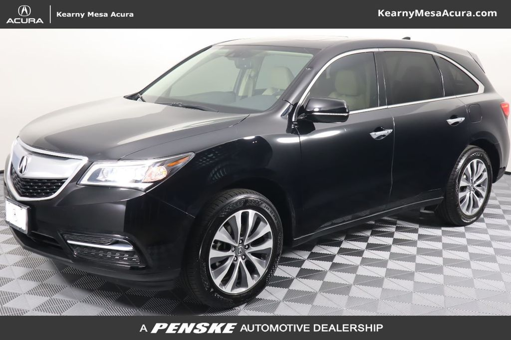 Pre-Owned 2015 Acura MDX FWD 4dr Tech Pkg