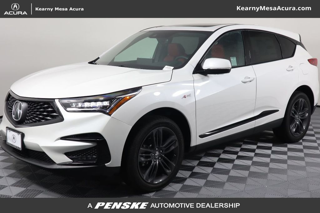 New 2021 Acura RDX with A-Spec Package