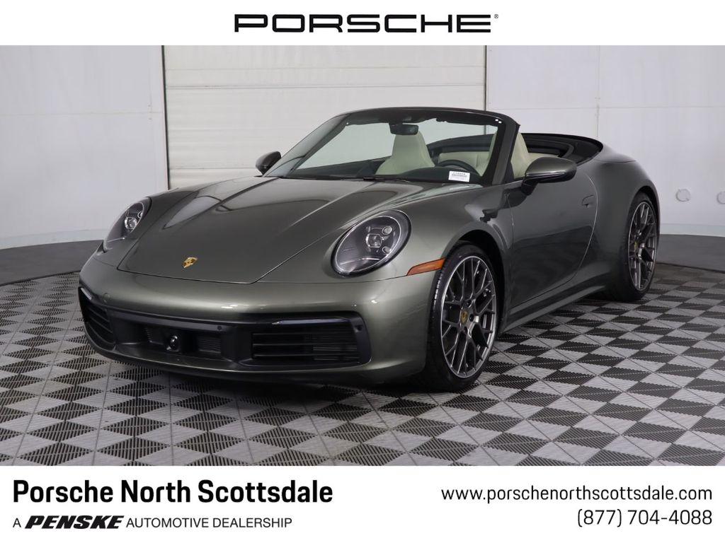 New 2020 Porsche 911 Carrera Cabriolet Convertible At Porsche North Scottsdale P10934 Penske Sale