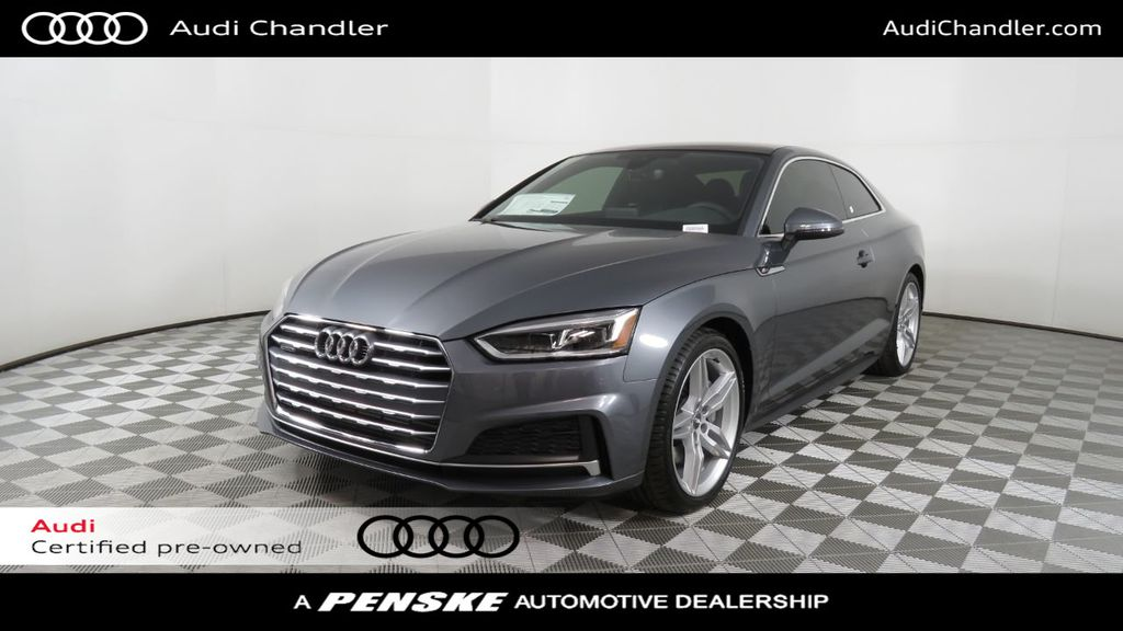 Certified Pre-Owned 2019 Audi A5 Coupe COURTESY VEHICLE
