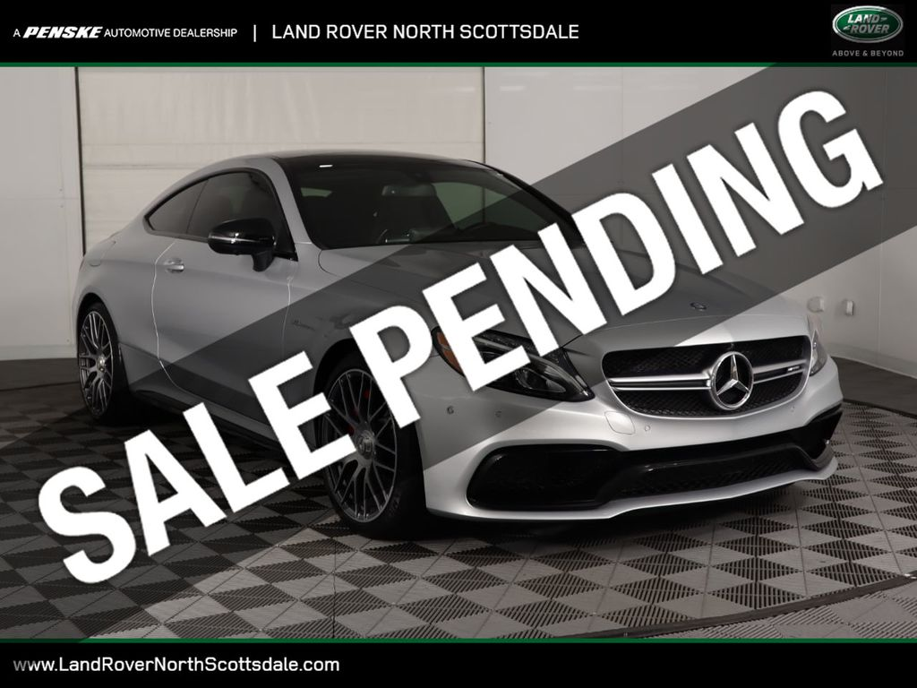 Pre-Owned 2017 Mercedes-Benz C-Class AMG® C 63 S Coupe