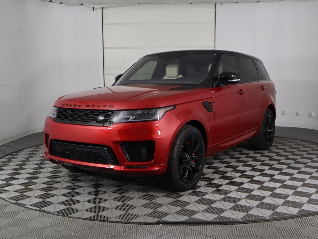 New 2020 Land Rover Range Rover Sport Turbo i6 MHEV HST