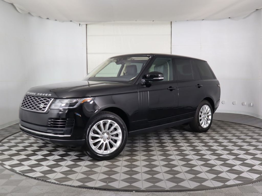 Certified Pre-Owned 2020 Land Rover Range Rover HSE SWB