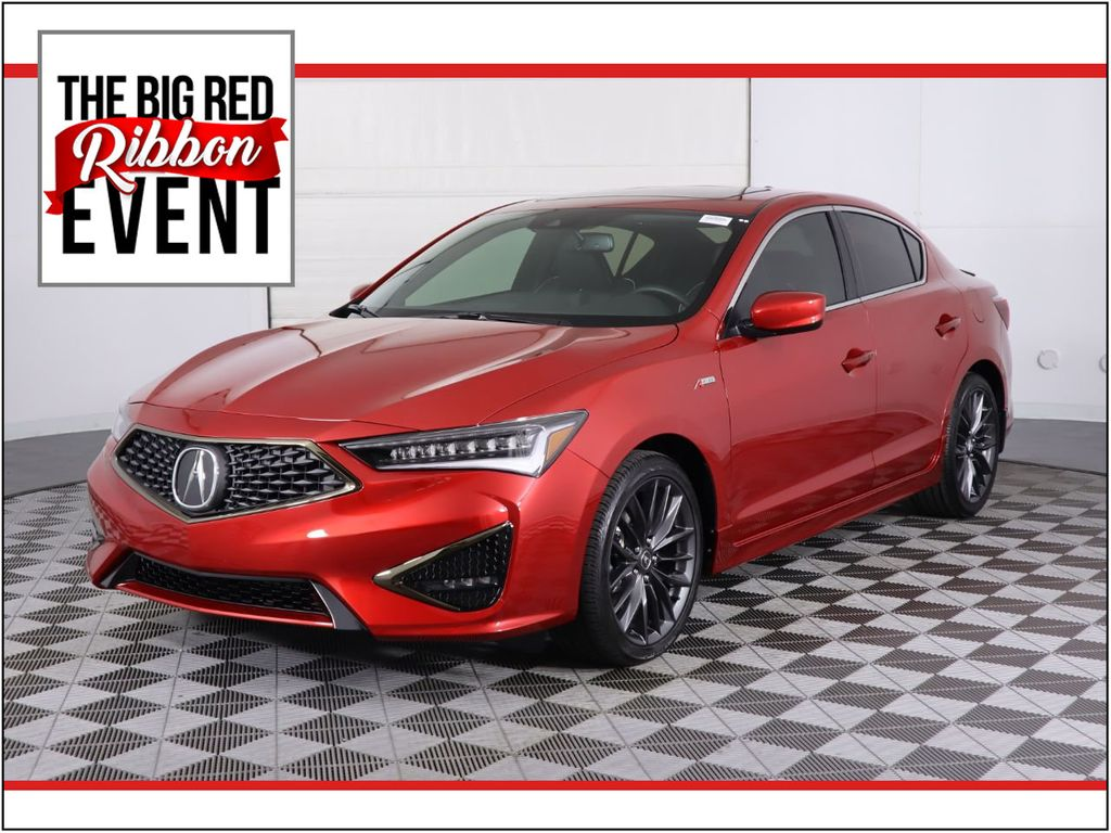 Certified Pre-Owned 2020 Acura ILX with A-Spec and Premium Packages
