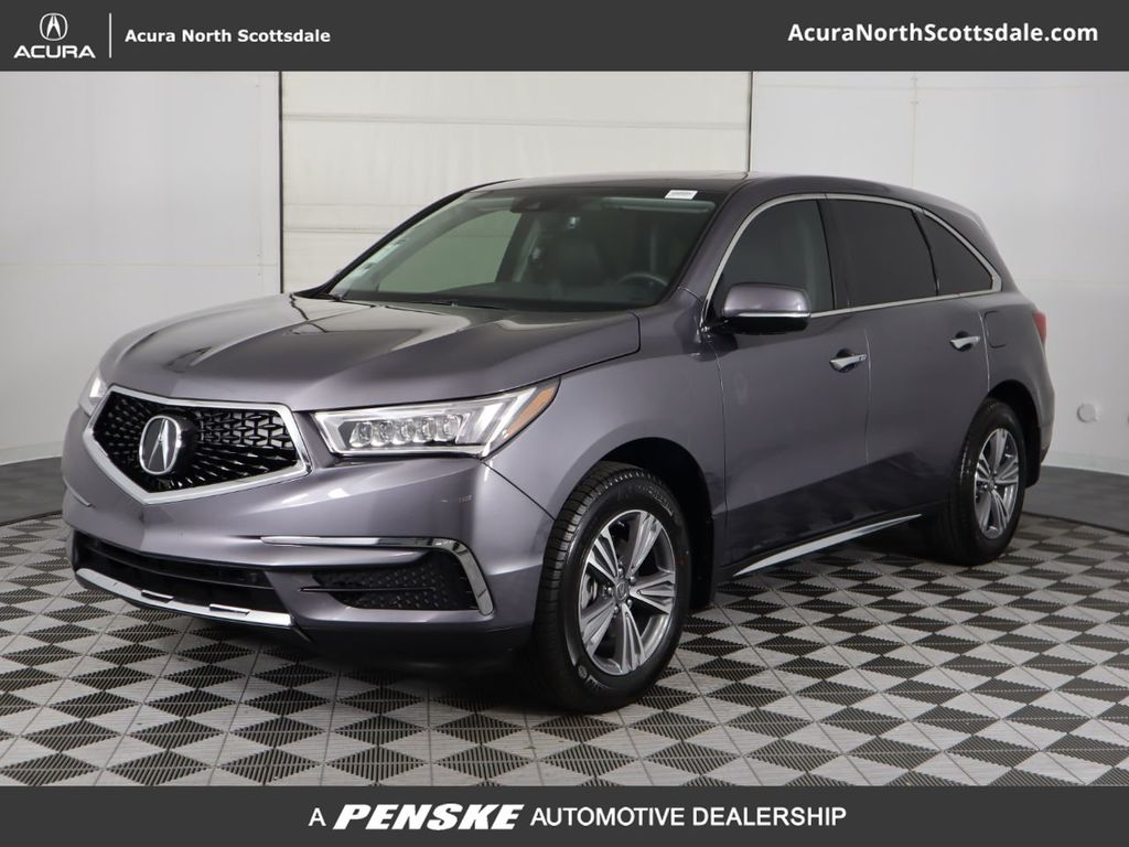 Certified Pre-Owned 2020 Acura MDX FWD 7-Passenger