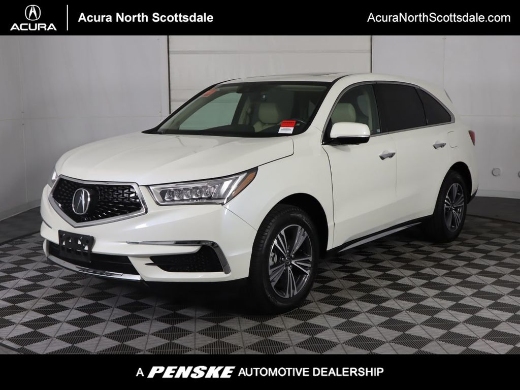 Pre-Owned 2018 Acura MDX SH-AWD All Wheel Drive SUV