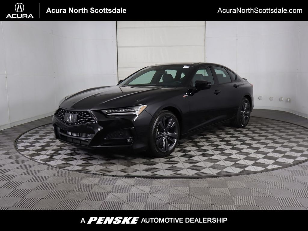 New 2021 Acura TLX with A-Spec Package