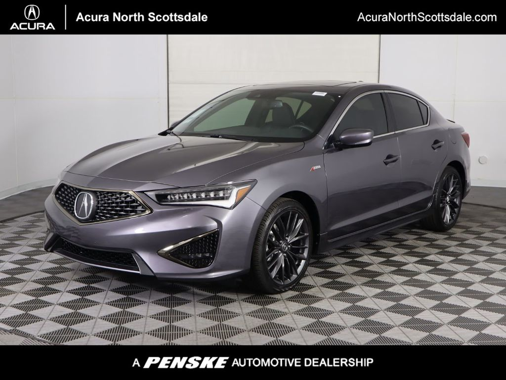 New 2021 Acura ILX with A-Spec and Premium Package