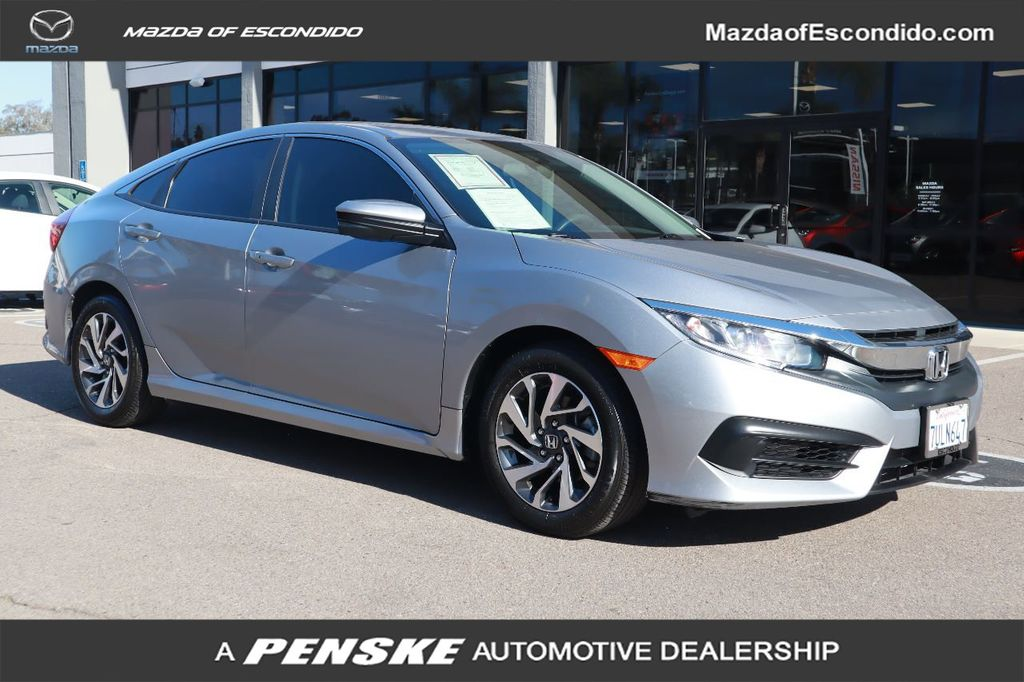 Pre-Owned 2016 Honda Civic Sedan 4dr CVT EX