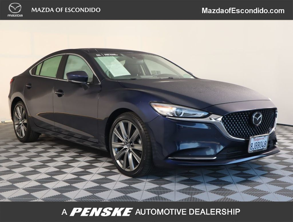 Certified Pre-Owned 2018 Mazda6 Grand Touring Reserve Automatic