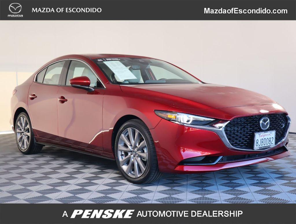 Certified Pre-Owned 2019 Mazda3 4-Door FWD w/Preferred Pkg