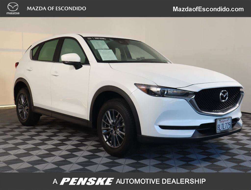 Certified Pre-Owned 2019 Mazda CX-5 Sport FWD