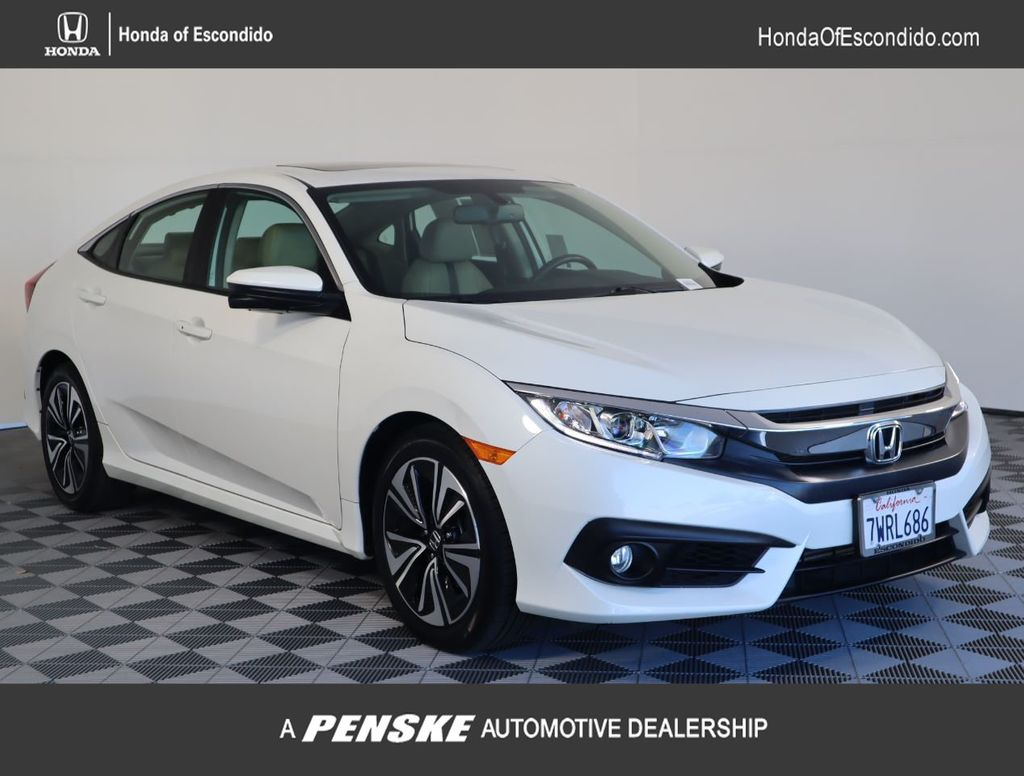 Pre-Owned 2017 Honda Civic Sedan EX-L CVT