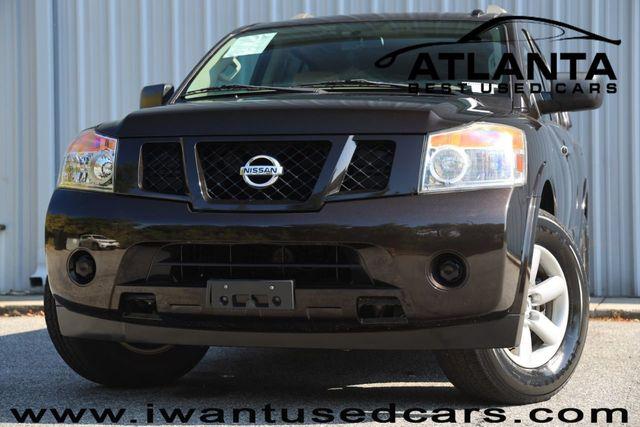 2014 Used Nissan Armada 4dr Sv At Atlanta Best Used Cars Serving Norcross Ga Iid 18382544