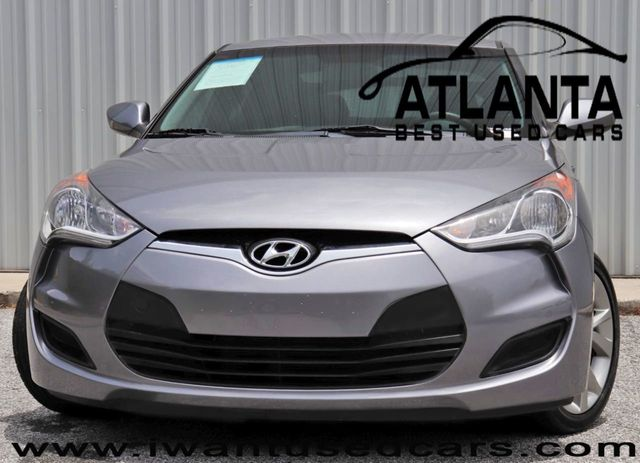 2016 Used Hyundai Veloster 3dr Coupe Automatic at Atlanta Best Used Cars  Serving Norcross, GA, IID 19070152