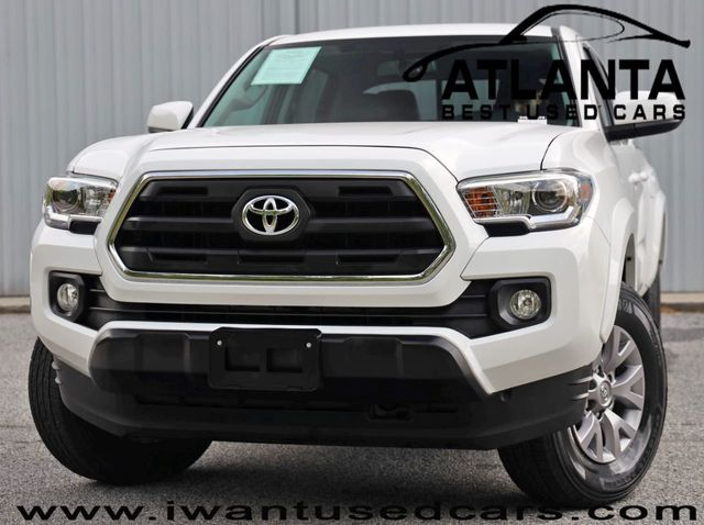 2017 Used Toyota Tacoma SR5 Double Cab 5' Bed V6 4x2 Automatic at Atlanta  Best Used Cars Serving Norcross, GA, IID 19070446