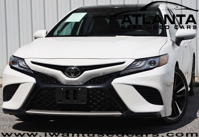 2018 Used Toyota Camry XSE Automatic w/ Audio & Panoramic Roof Packages at  Atlanta Best Used Cars Serving Norcross, GA, IID 19269690
