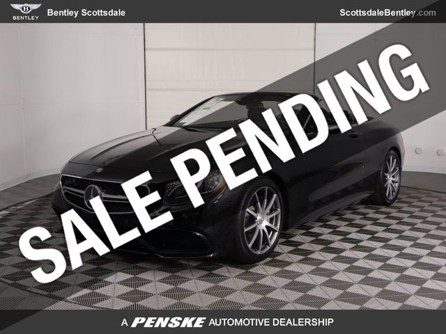 2017 Mercedes-Benz AMG S 65 Cabriolet For Sale