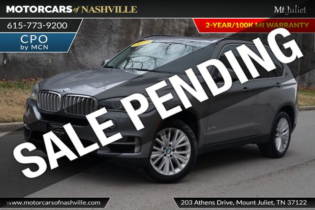 2015 Used Bmw X5 Xdrive50i W 3rd Row Seat At Motorcars Of Nashville