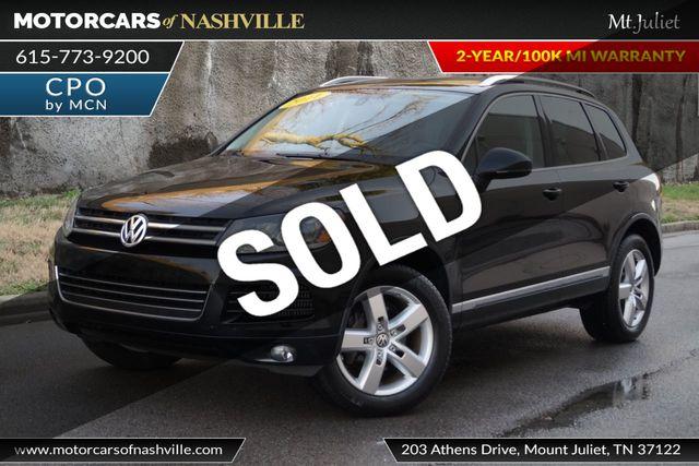 2011 Used Volkswagen Touareg 4dr TDI Exec *Ltd Avail* at MotorCars of  Nashville - Mt Juliet Serving Mt Juliet, TN, IID 18458948