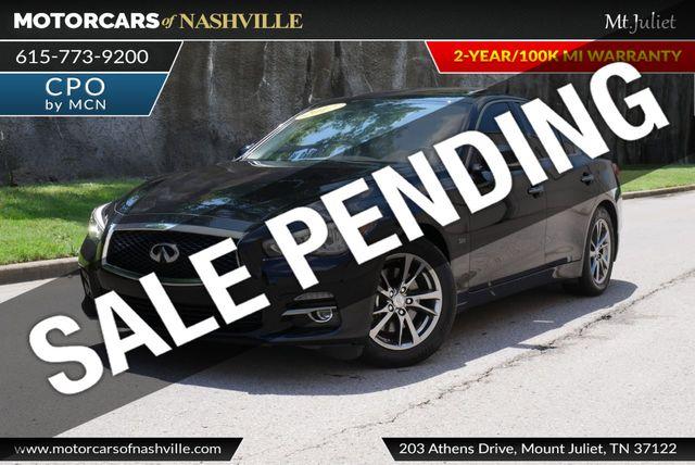 Motorcars Of Nashville >> 2017 Used Infiniti Q50 3 0t Signature Edition Rwd At Motorcars Of