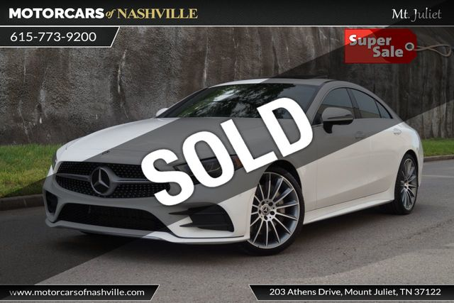 Mercedes Benz Nashville >> 2019 Used Mercedes Benz Cls Cls 450 Coupe At Motorcars Of Nashville Mt Juliet Serving Mt Juliet Tn Iid 18850075